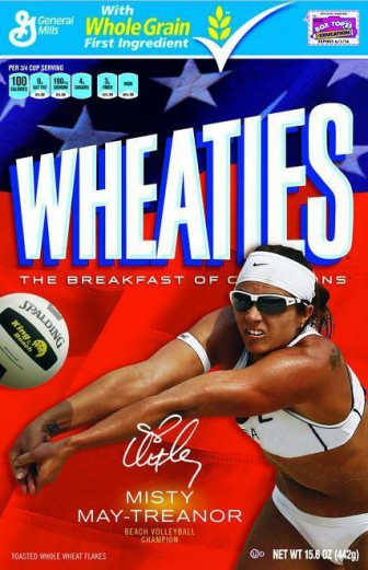 Misty Wheaties Box
