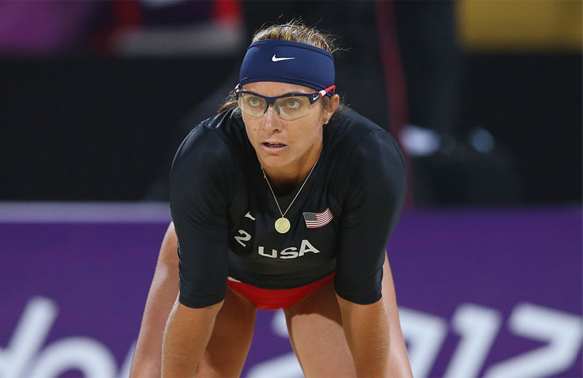 Misty May-Treanor <br/>Three Time Olympic Gold Medalist